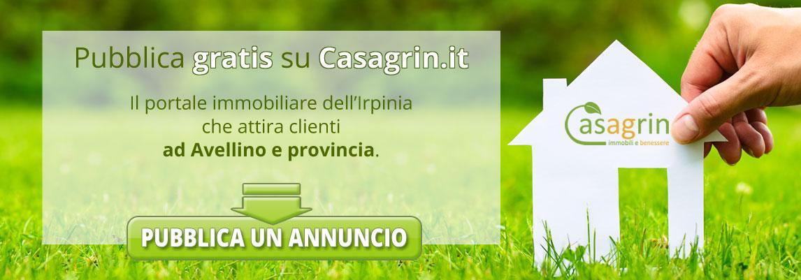 Pubblica annuncio vendita casa con giardino ad Avellino e provincia
