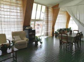 Appartamento di 130mq con 70mq di terrazzo verandato e 60mq di balconate